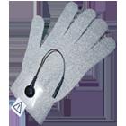 Textilelektrode Handschuh